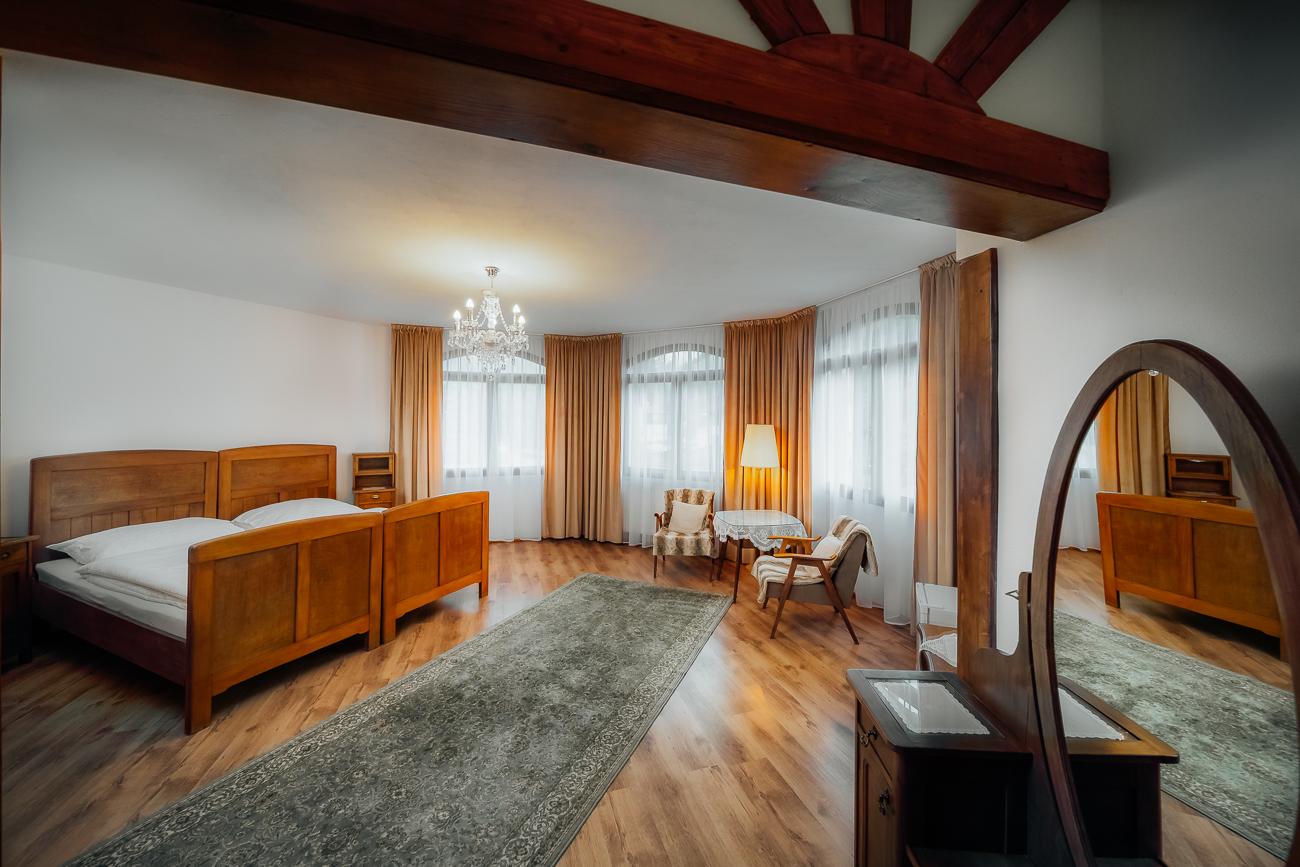 interiér penziónu Kráľov Prameň odfotil interiérový fotograf Jozef Vokál